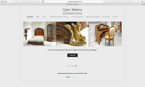Carol Bellamy Collections by Coughlan Web
