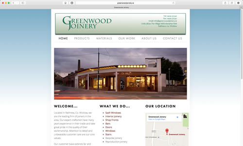 Greenwood Joinery by Coughlan Web