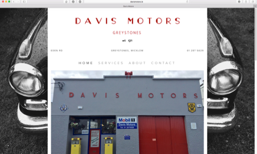 Davis Motors by Coughlan Web
