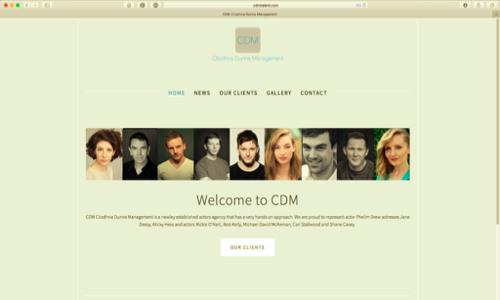 Cliodhna Dunne Management by Coughlan Web