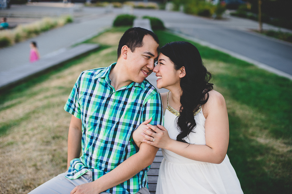 Vancouver Olympic Village Engagement Photography edward lai