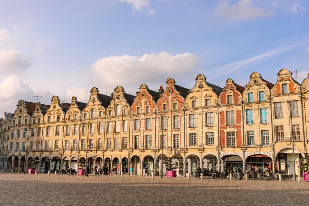 Arras, France.