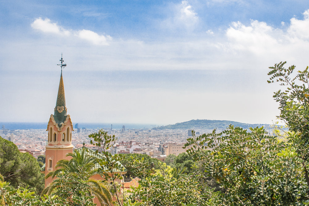 Park Güell. Opted to not go in, but the surrounding area was still great.