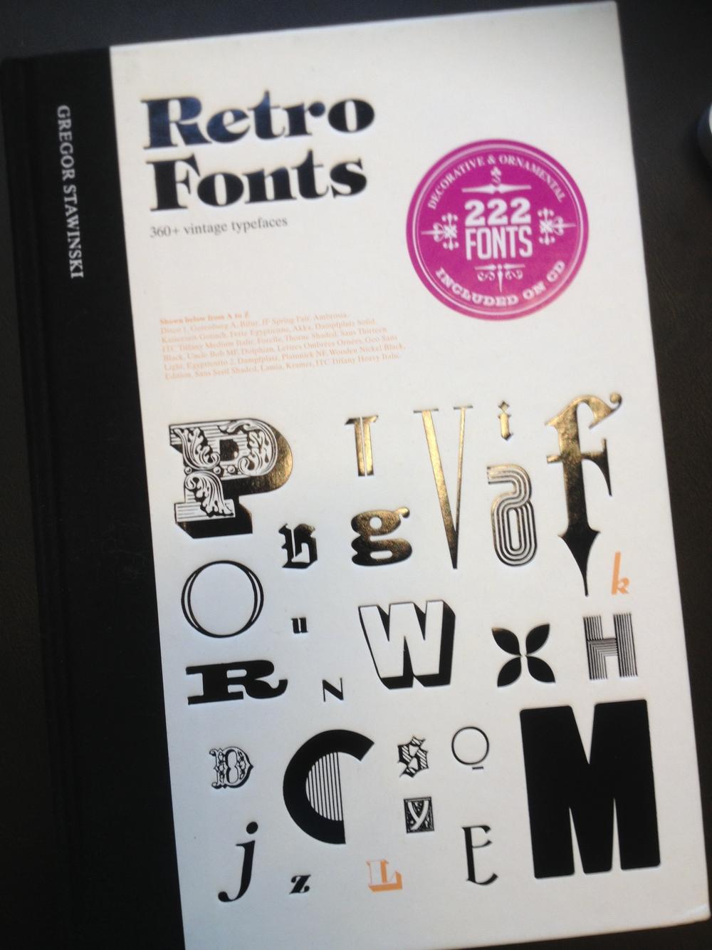 Retro Fonts af Gregor Stawinski - me in looove