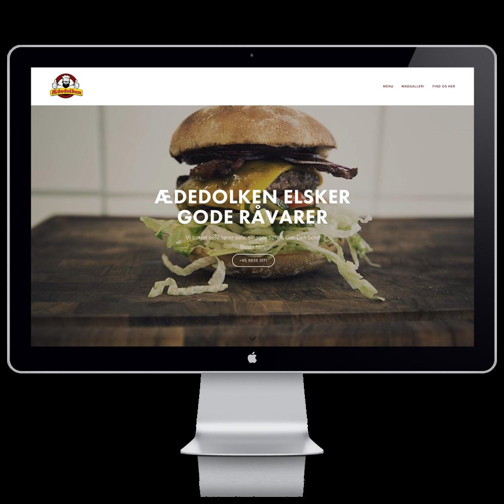 Se hjemmesiden her:   Ædedolkens website   - åbner i nyt vindue.