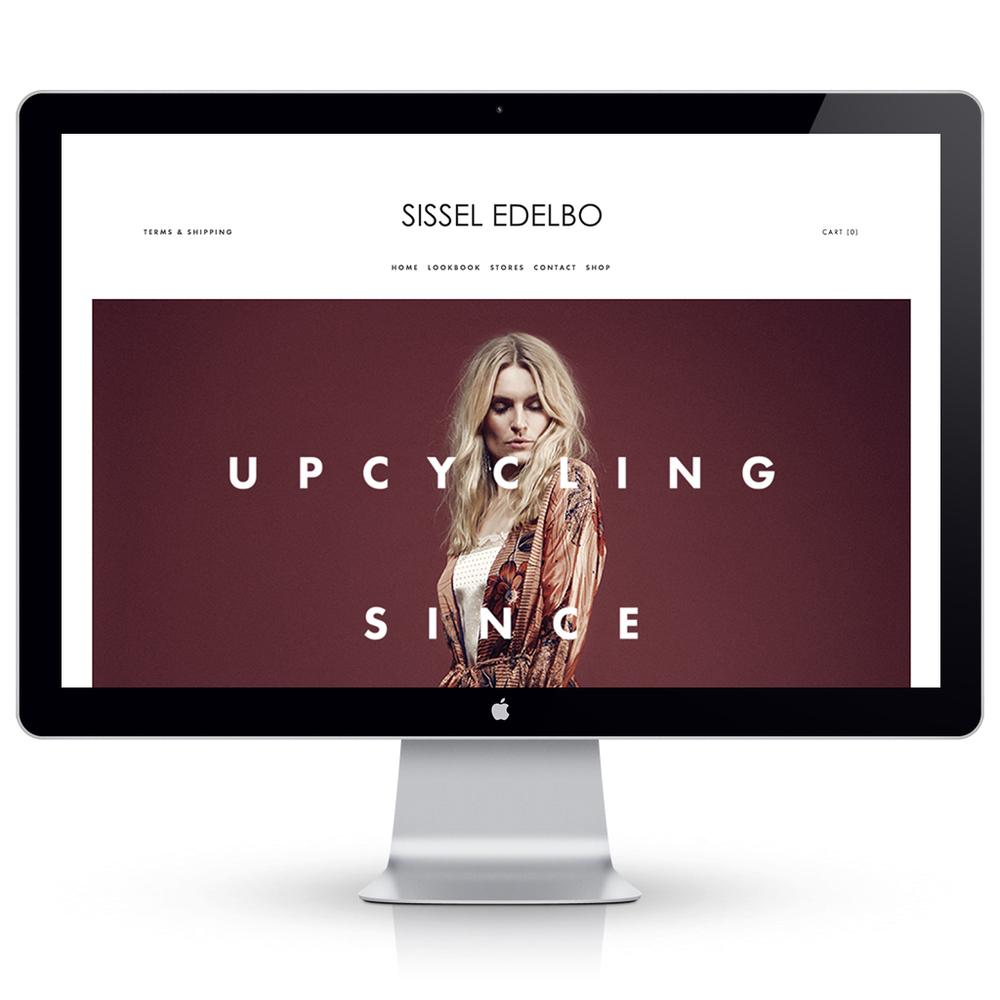 Webshop for Sissel Edelbo