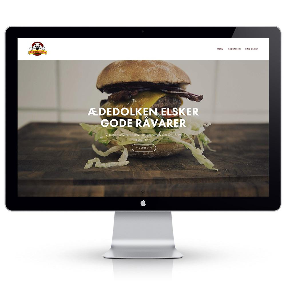 Hjemmeside til Ædedolken