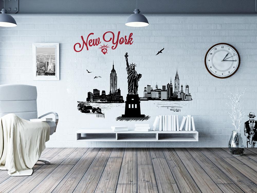 wall-sticker-newyork-anna-sokolova-art