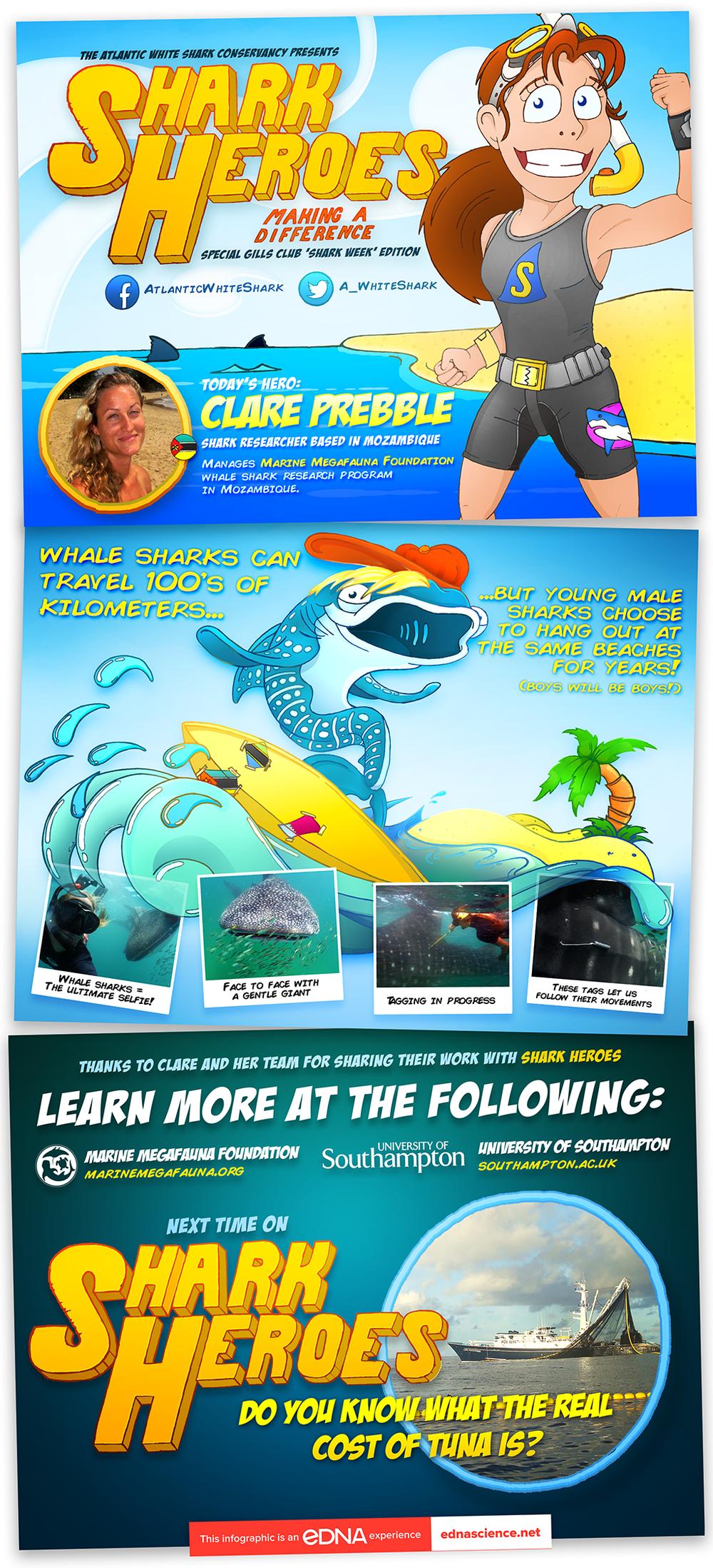 Shark Hero - Clare Prebble