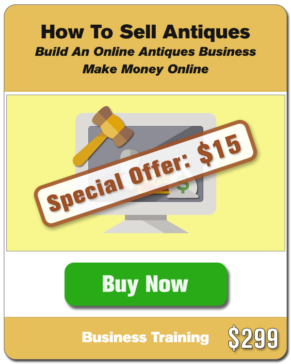 Selling Antiques Online