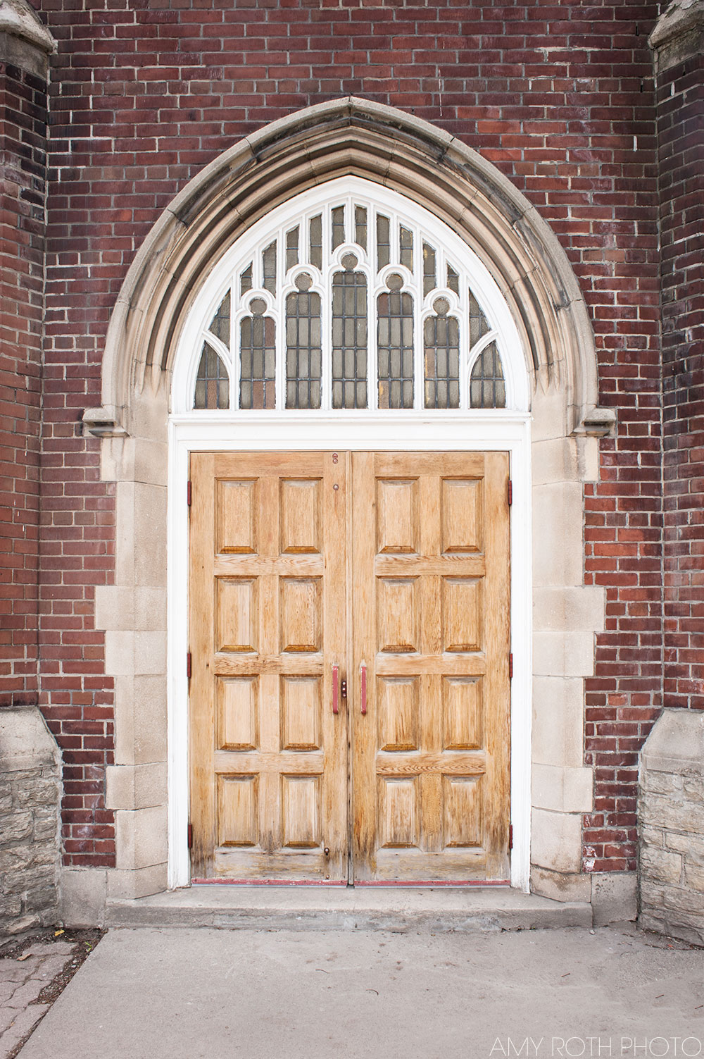 Toronto Church Door | Amy Roth Photo