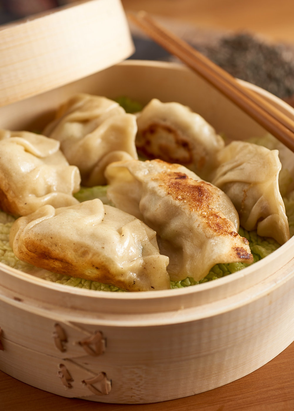Pork Dumplings | Amy Roth Photo