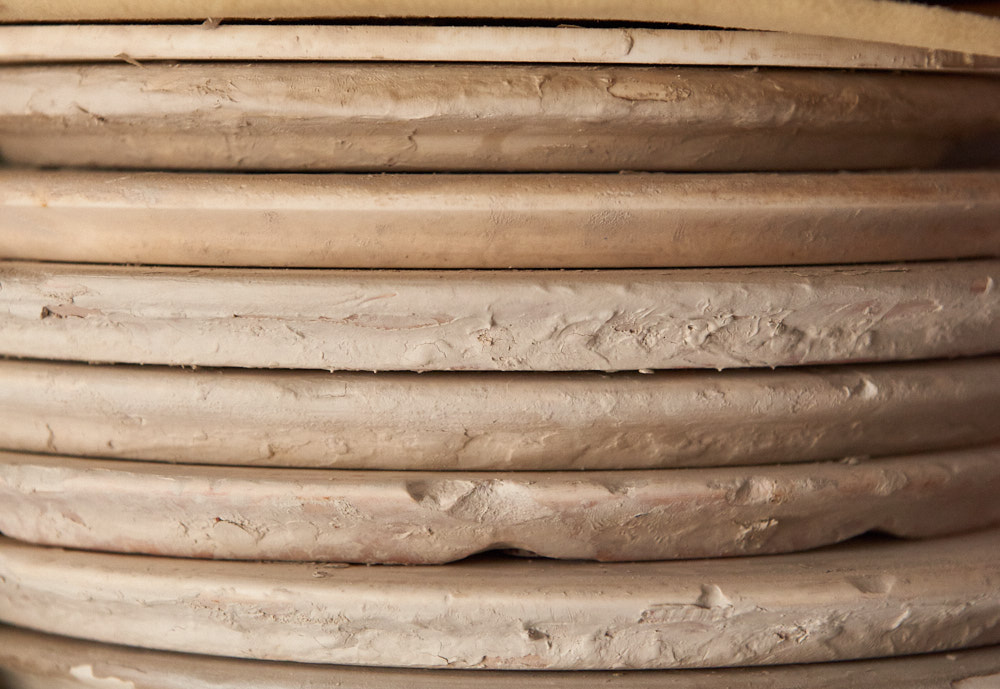 Pottery Disks | Amy Roth Photo