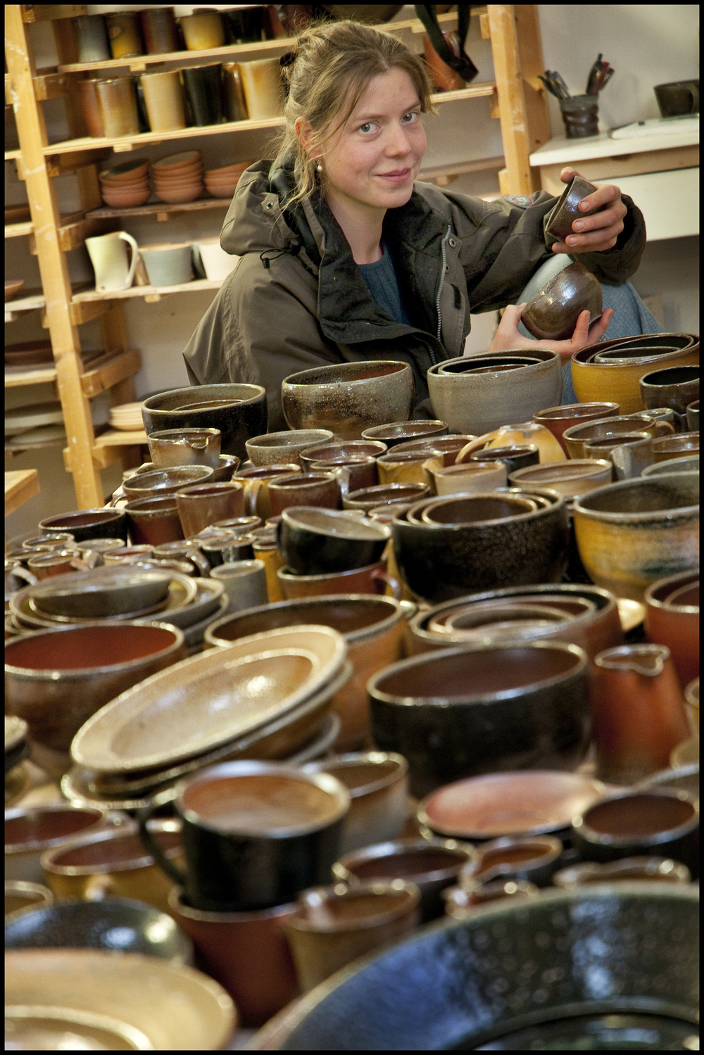 Production Potter & Apprentice Coordinator, Britta Wengeler-James