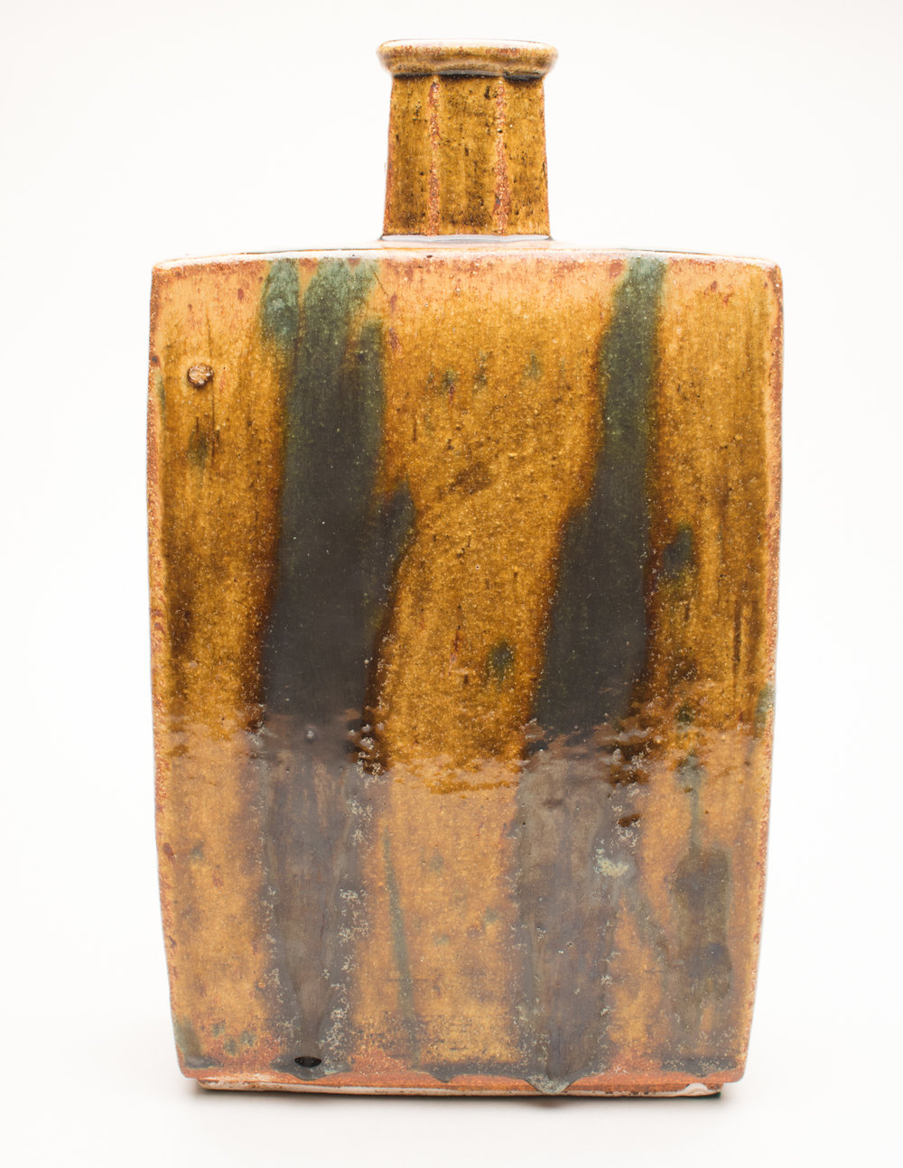 William Marshall slab bottle vase