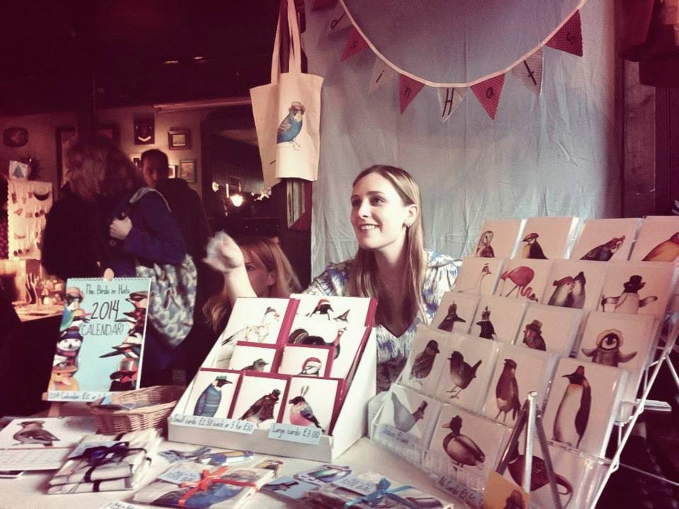 Birds in Hats at Crafty Fox Market - Photo by Yeshen Venema