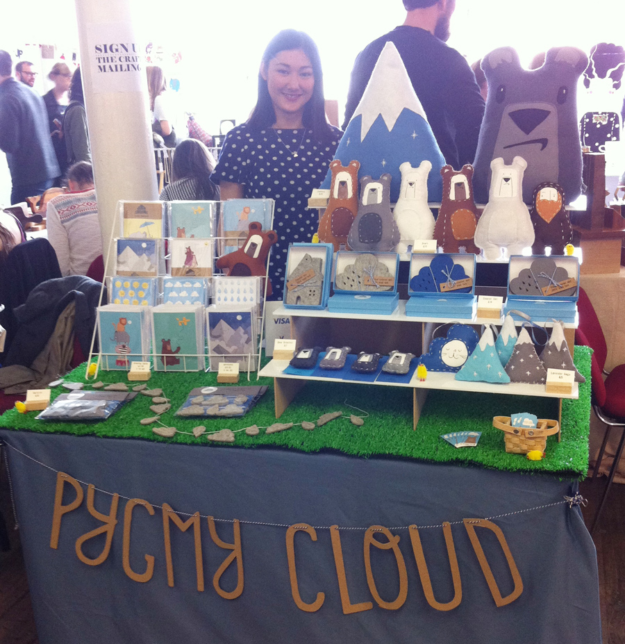 Pygmy Cloud at Crafty Fox Market