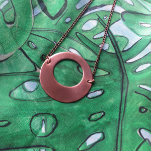 "Laurie Ellen - ""I design copper jewellery ranges & print collections that reflect my passion for simple, versatile and minimal design."""
