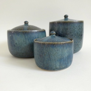 "viCeramics  - ""Handmade ceramics in London, thrown and with original colours (I make my own glazes), made to be used."""