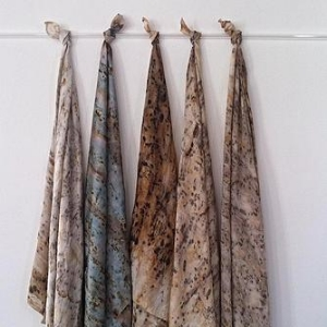 "ACFD Designs  - ""ACFD specialises in hand made silk scarves. Each piece is unique and individual to the wearer."""