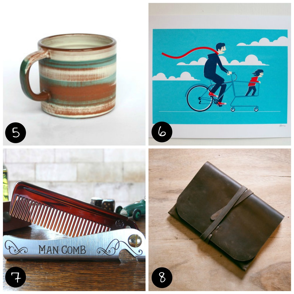 5.  Sam Andrew Ceramics , 6.  el horno , 7.  DAFT Design and Fresh Thinking , 8.  Oak & Awl
