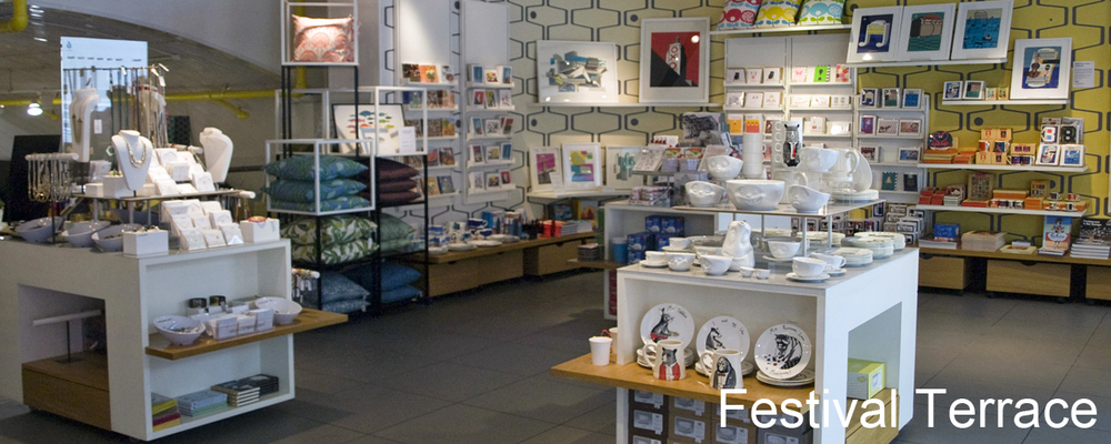 Festival Terrace - one of three Southbank Centre shop outlets