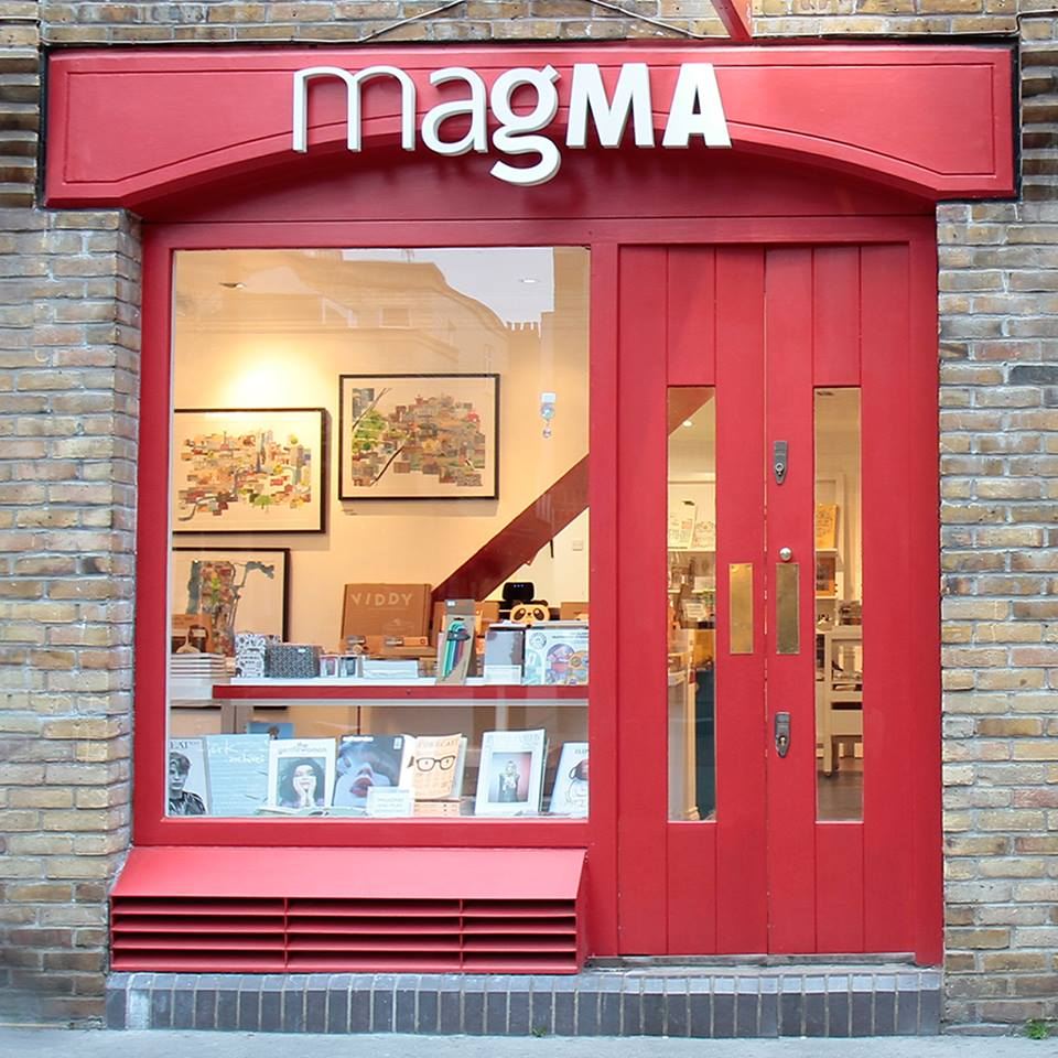 Magma have 3 stores in London and one in Manchester