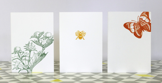 Handmade cards by Grey Letter Press
