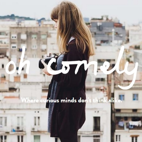 Sarah McCoy, Publicity and Marketing Manager at  Oh Comely Magazine