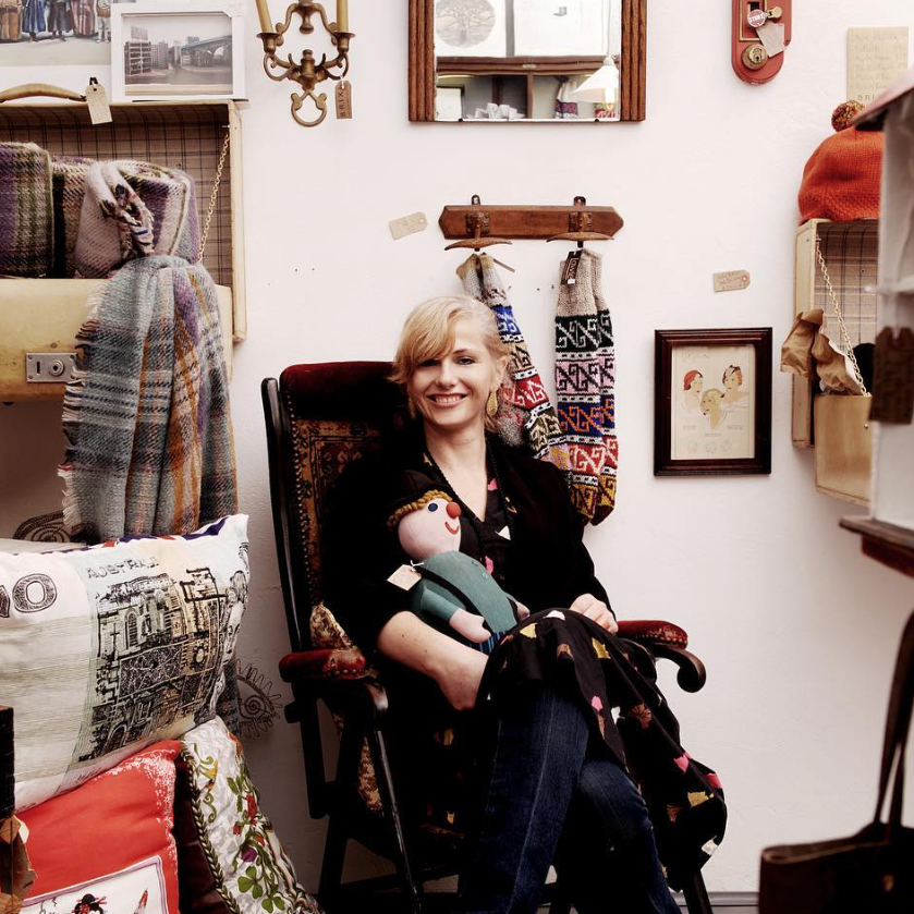 Emy Grey, owner of Brixton curiosity shop, Brixi