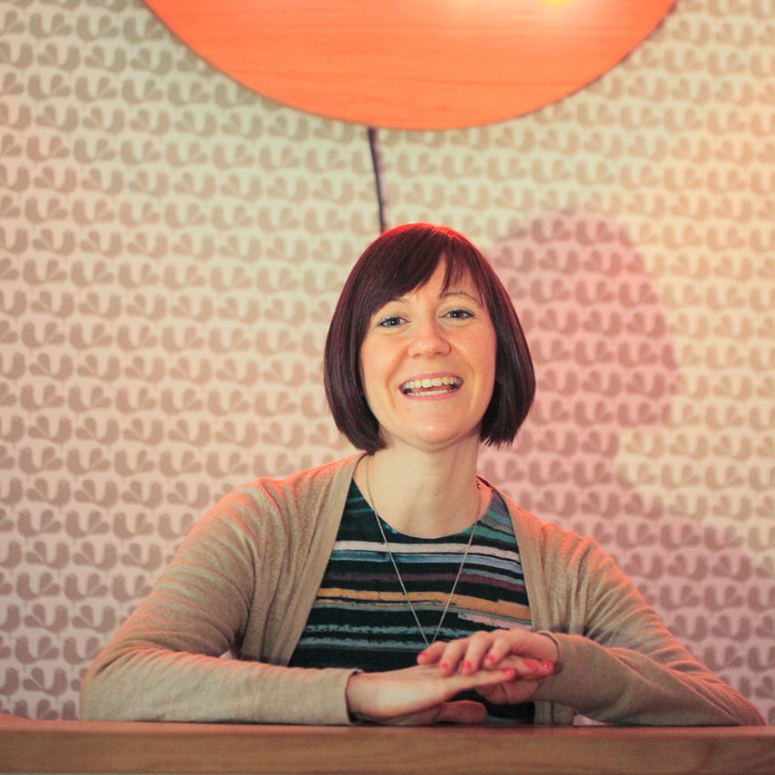 Harriet Vaight, owner of design store, gallery and workshop space  Chirpy