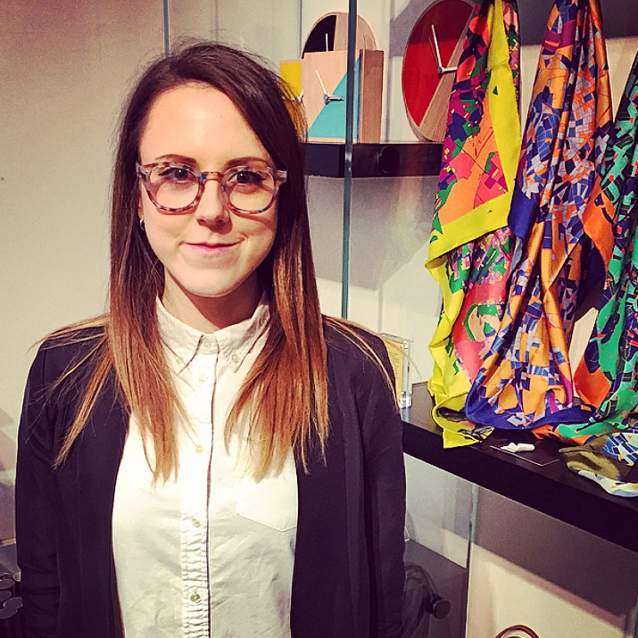 Emily Rubner - buyer for the Royal Academy of Arts shop.