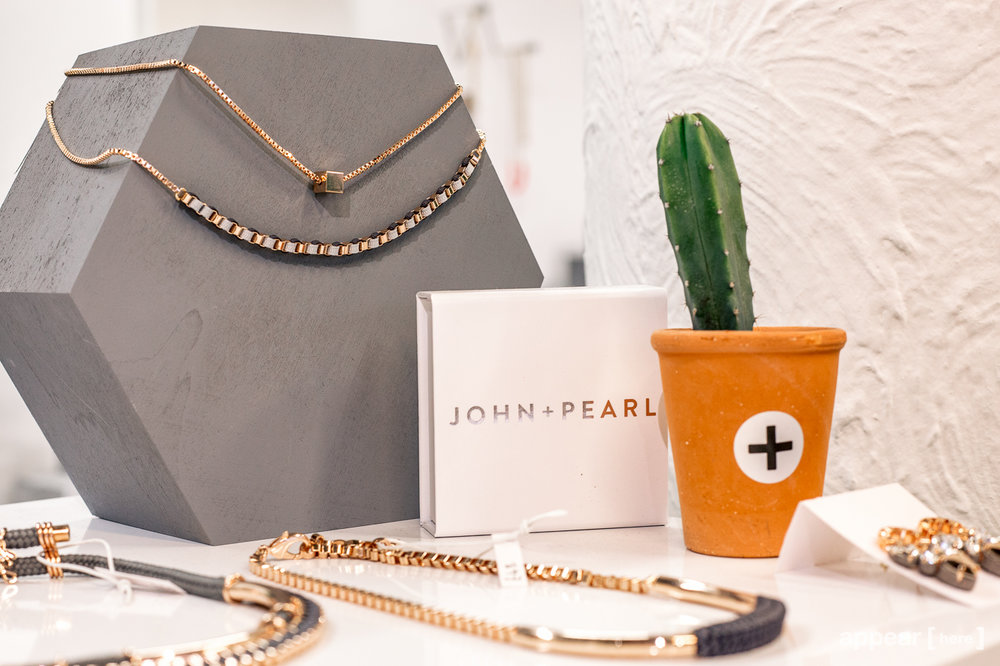 John + Pearl  - Old St Station pop-up