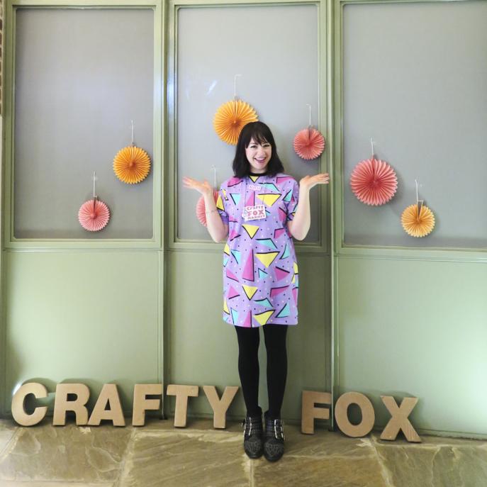 Kayti Peschke - Marketing Manager kayti@craftyfoxmarket.co.uk