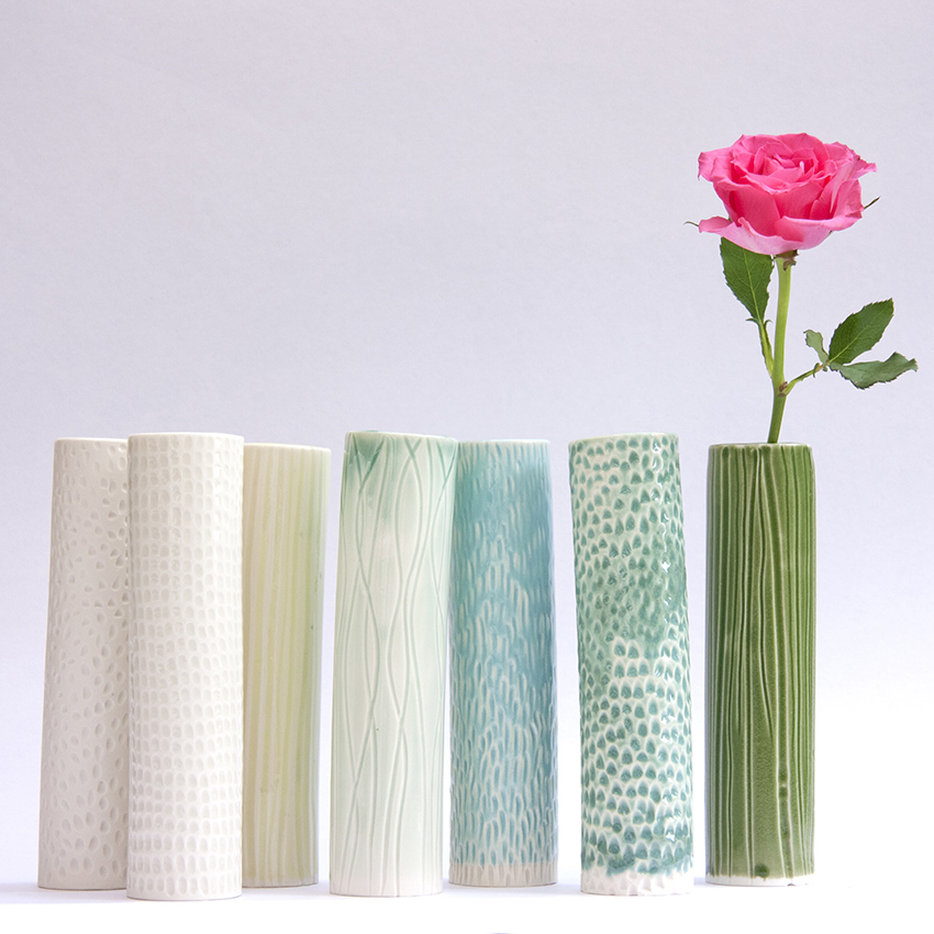 Clara Castner large carved porcelain vases.jpg