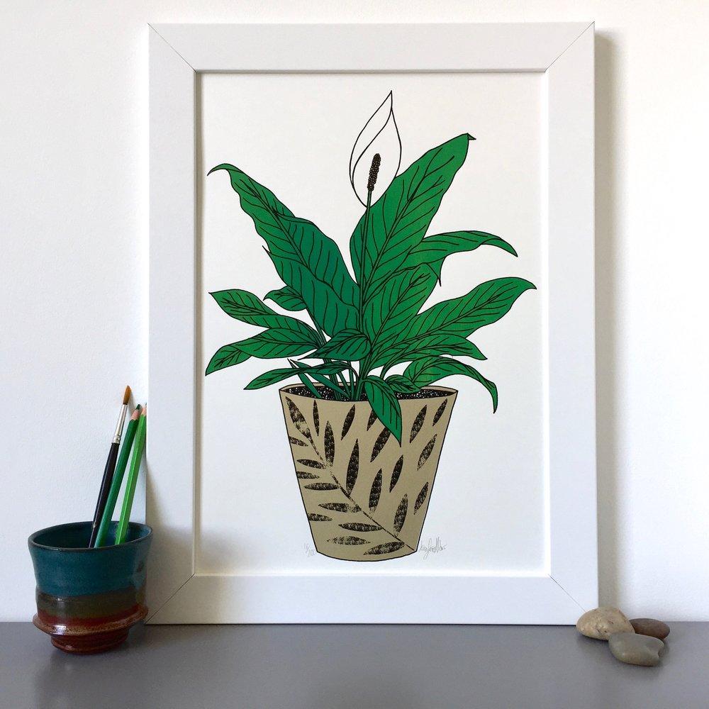 Plant Prints for Peace