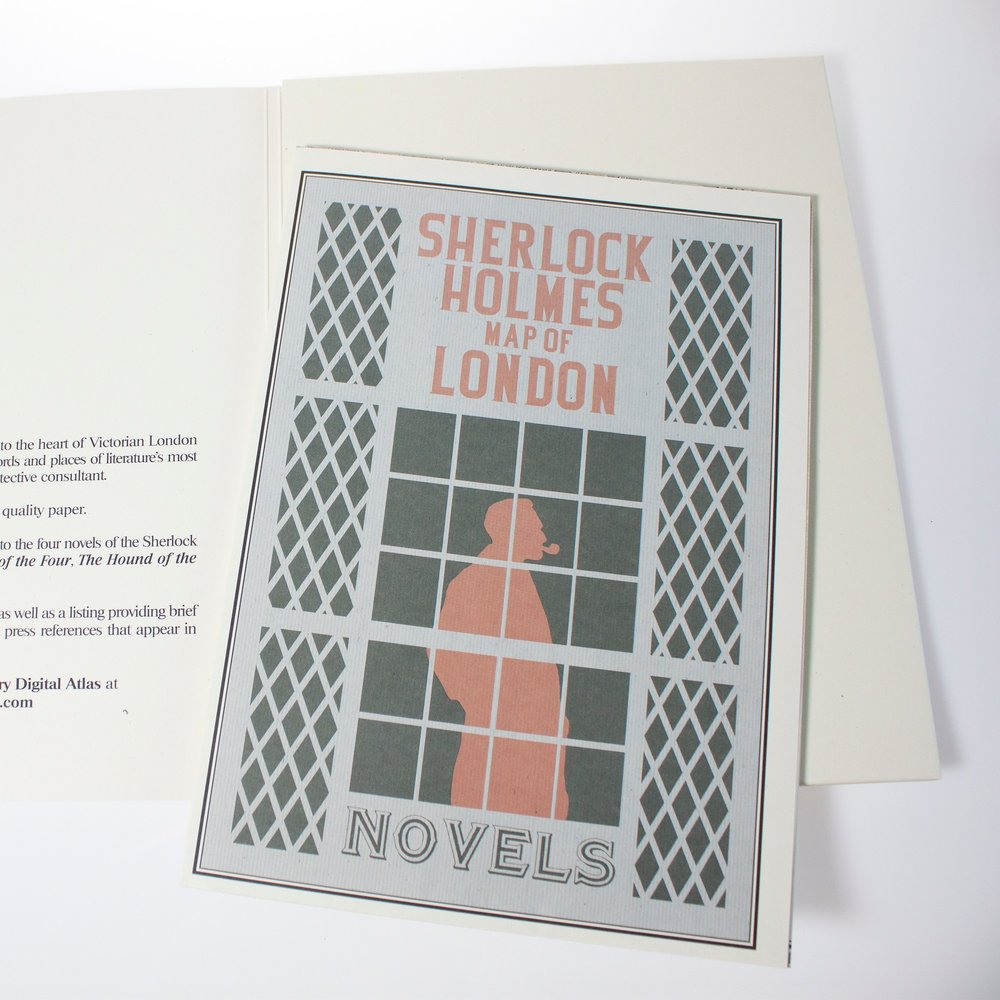 Sherlock Holmes Map of London from Foundland