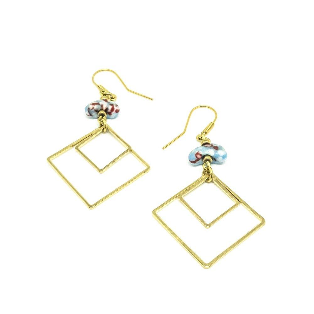Geo Earrings from Katiico Jewellery