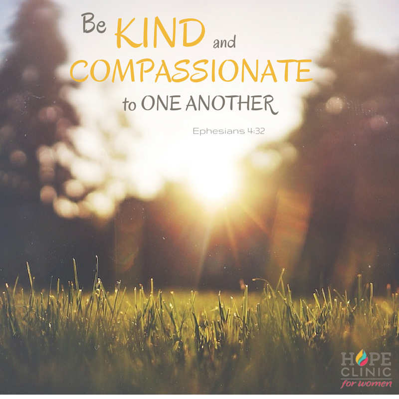 be kind and compassionate