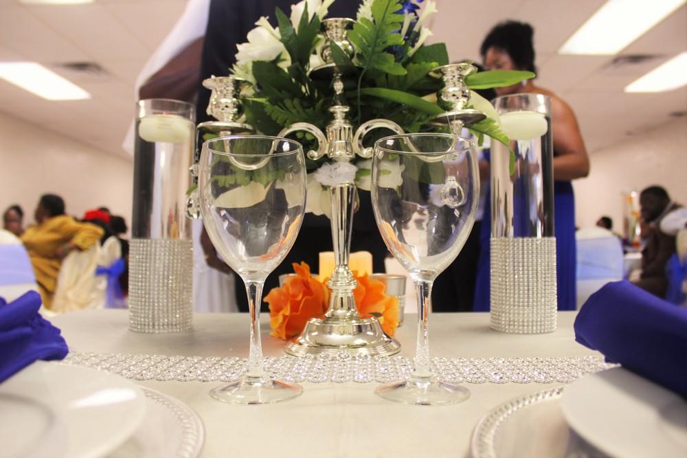 The Minton's Bride & Groom Table Scape II