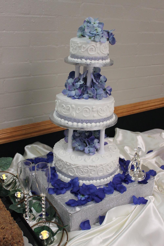The Minton's Wedding Cake
