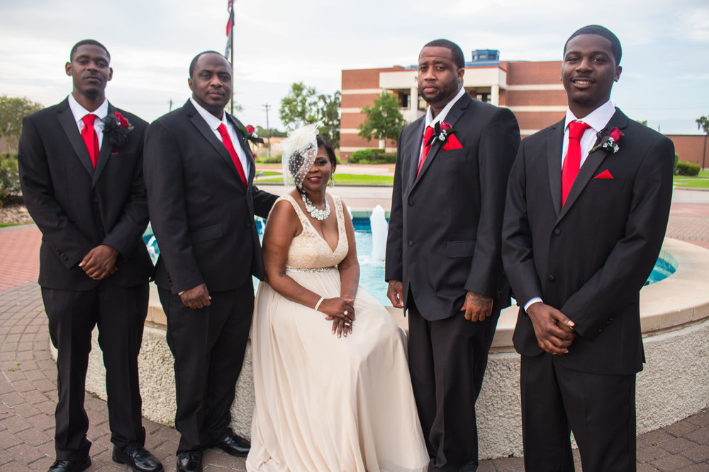 The Bride and Her Boys