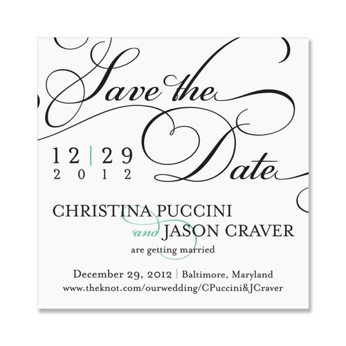 Square Save the Date-  www.tgkdesigns.com