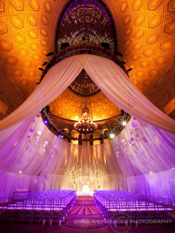 fabric-draping-ceremony