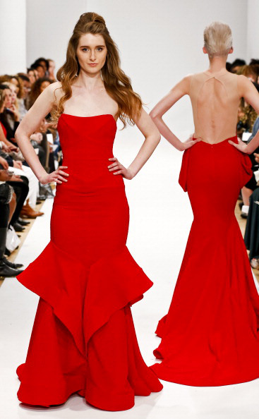 Michael Costello - Runway - Mercedes-Benz Fashion Week Fall 2014