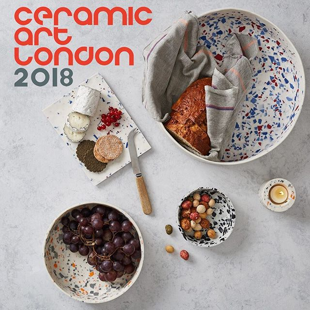 In one week's time I will be selling my work once again at the International Contemporary Ceramics Event, @ceramicartlondon . Find me on Stand 67 to get your ceramics fix.  Stand 67 Ceramic Art London Central Saint Martins Granary Square Kings Cross London NC1 4AA  Friday 23 March 10am-6pm Saturday 24 March 10am-6pm Sunday 25 March 10am-5pm  Tickets available from ceramicartlondon.com . . .  #craft #parian #ceramics #ceramic #contemporaryceramics #terrazzo #porcelain #terrazzodesign #tableware #designermaker #keramik #livefolk #handmade #interiors #bowls #handcrafted #ceramicartlondon #cal18