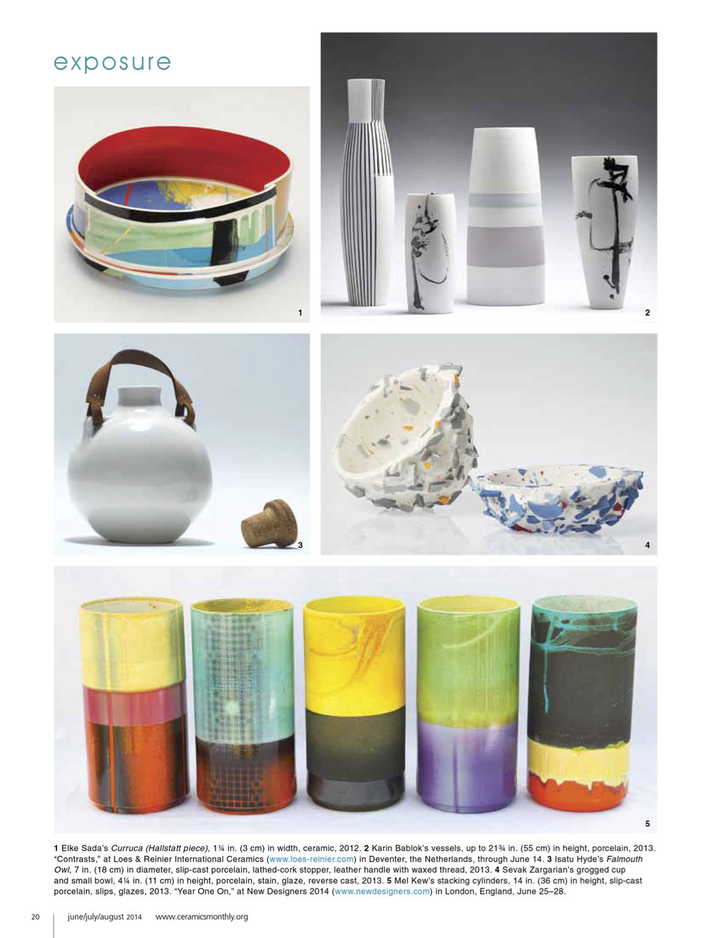 Ceramics Monthly / Jun '14