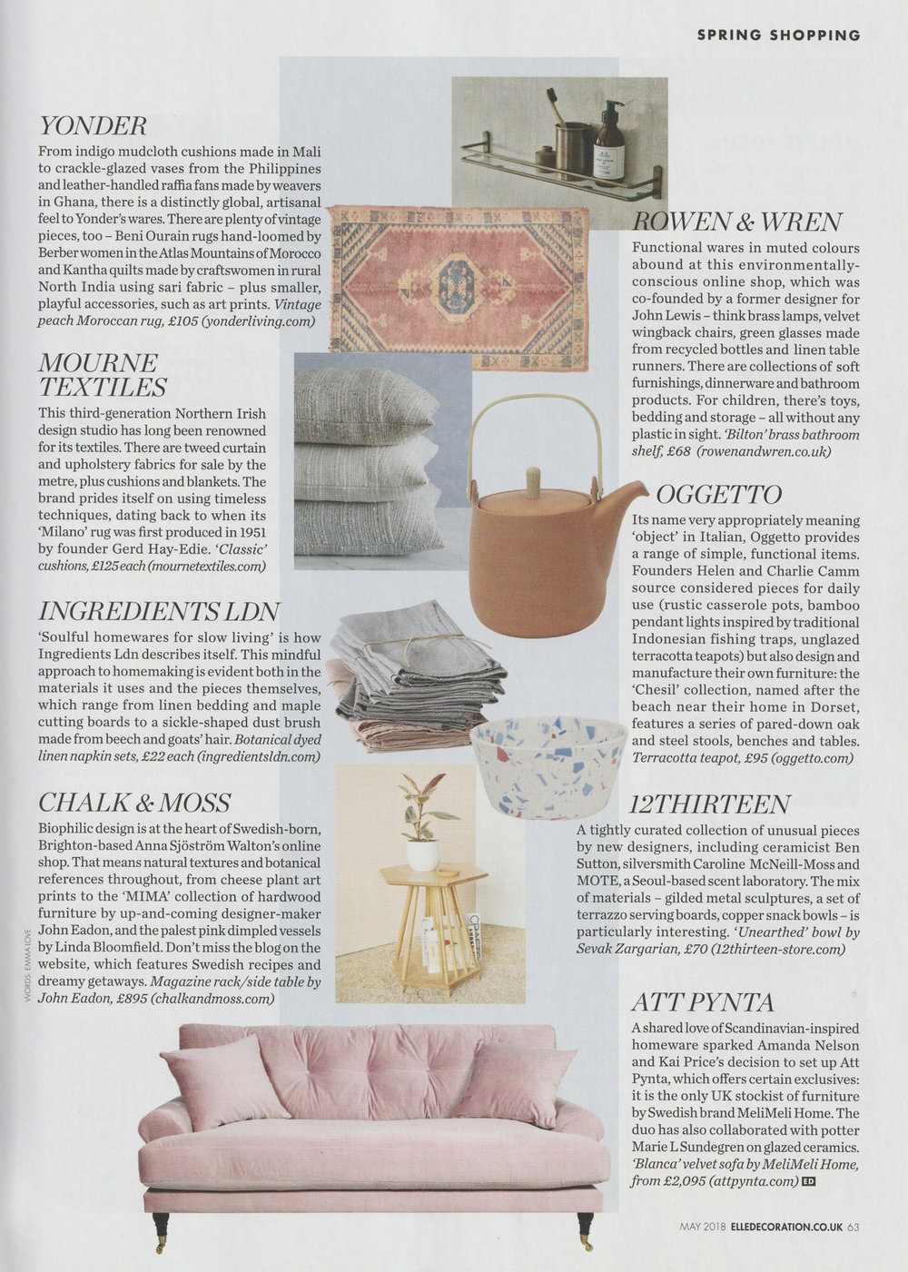 Elle Deco / May '18