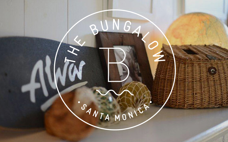 The Bungalow by Brent Bolthouse Santa Monica Lounge Branding and Design