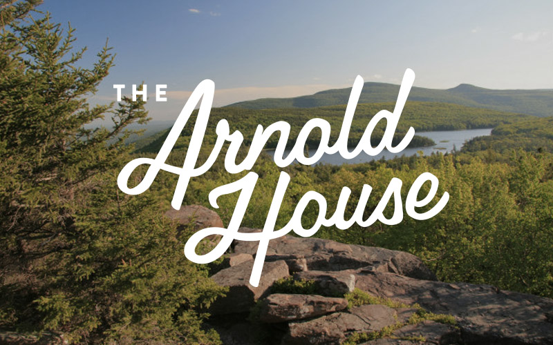 The Arnold House Catskills Resort NY Branding and Design